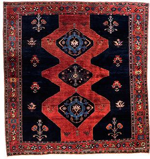 feiner Kaschkuli, Persien 201 x 187 cm