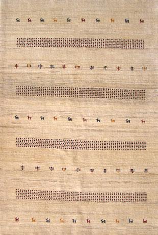 Gabbeh Teppich, Persien 192 x 126 cm