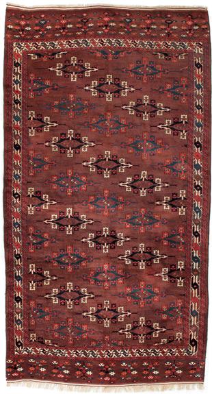 Antiker YomudTurkmenen Galerie Teppich  teppichportalch