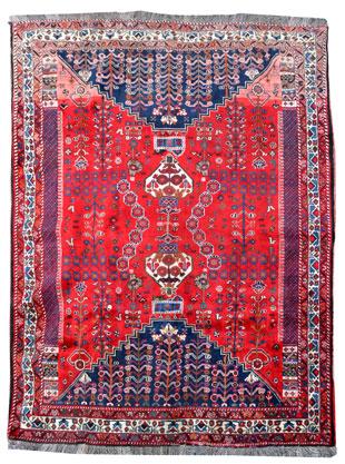 Schöner Kaschkai, Iran 280 x 205 cm