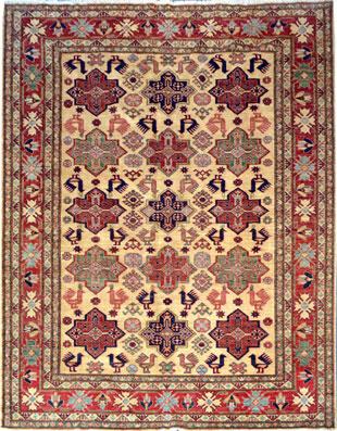 Neuer Kazak Afghan Teppich Teppichportal Ch
