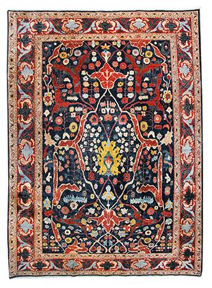 Sehr feiner Bidjar, Iran 358 x 272 cm